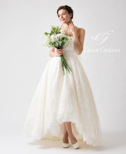 Lisa & Giuliani Wedding Dress キャロリーナ