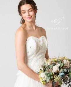 Lisa & Giuliani Wedding Dress キャンディス