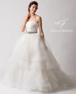 リサ アンド ジュリアーニ ウェディングドレス グランデ