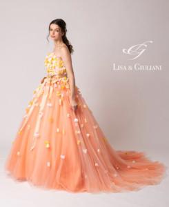リサ アンド ジュリアーニ ウェディングドレス サンフラワー