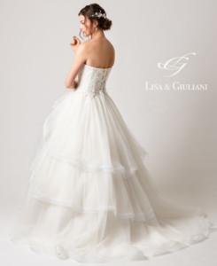 リサ アンド ジュリアーニ ウェディングドレス ミラー