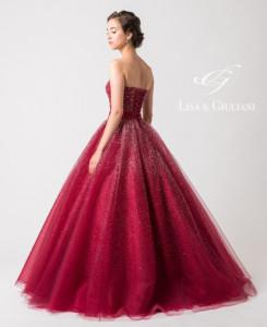 リサ アンド ジュリアーニ ウェディングドレス ルビーシェル