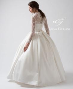 リサ アンド ジュリアーニ ウェディングドレス ローラン2