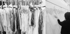 Lisa & Giuliani Wedding Dress デザイン