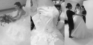 Lisa & Giuliani Wedding Dress デザイン