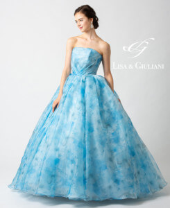 リサ アンド ジュリアーニ ウェディングドレス ブルールージュ